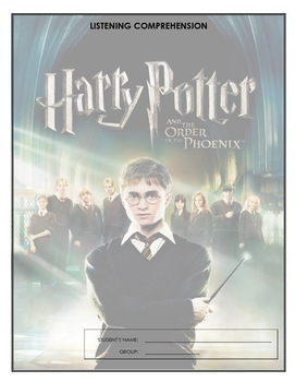 Listening Comprehension - Harry Potter and the Order of the Phoenix