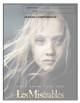 Listening Comprehension - Les Miserables
