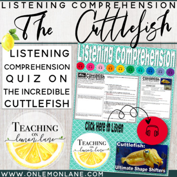 Listening Comprehension / Listening Skills Upper Grades / Listening Center