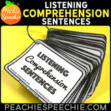 Listening Comprehension Sentences {With 210 Comprehension Questions!}