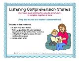 Listening Comprehension Stories