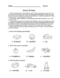 Listening Comprehension Stories  Practice  Test Prep SL.K.