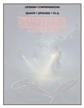 Listening Comprehension - Stranger Things (season 1 bundle)