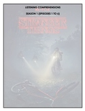 Listening Comprehension - Stranger Things (season 1 bundle)