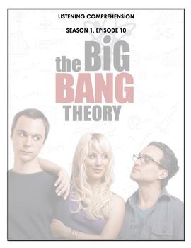 Listening Comprehension - The Big Bang Theory 1x10