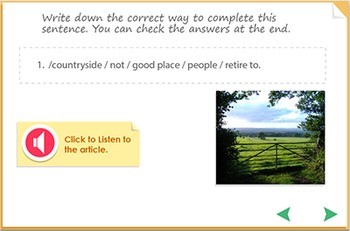 Listening Comprehension - The City or the Country