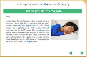 Listening Comprehension - Top Health Trends