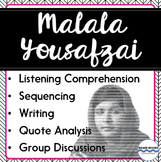 Nonfiction Listening Comprehension Unit:  Malala Yousafzai