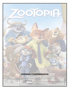 Listening Comprehension - Zootopia