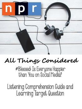 #SocialMedia: Listening Comprehension and Objective Summary - Podcast