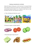 Listening Comprehension for pre-K and K - 8 pages of short