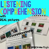 Listening Comprehension with WH Questions - Real Pictures