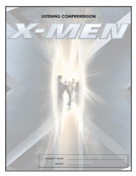 Listening Comprehensions - X-Men