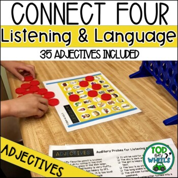 Listening Connect Four: Adjectives