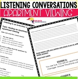Listening Conversation Renting an Apartment - Scheduling an Apartment Viewing