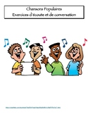 Listening Exercises Chansons Populaires