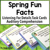 Spring Theme Activities for Speech Therapy | Auditory Processing