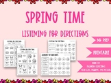 Listening For Directions: Spring Time