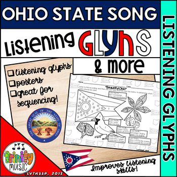 """Listening Glyphs and More for """"Beautiful Ohio"""" (Official State Song of Ohio)"""