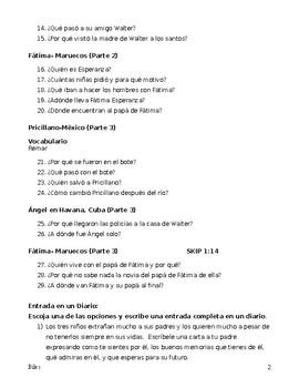"Listening Guide in Spanish to ""Al Otro Lado"""
