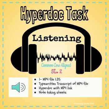 Listening Hyperdoc
