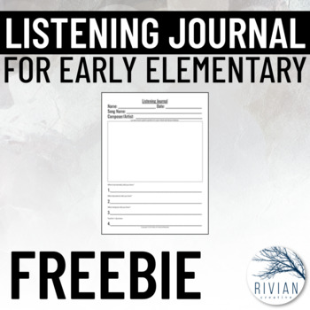 Listening Journal
