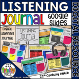 Listening Journal on Google Slides  Distance Learning