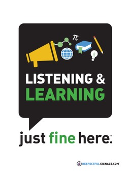 Listening & Learning - Decal