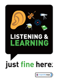 Listening & Learning-Decal