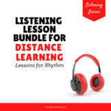 Listening Lesson Bundle for Distance Learning {Lessons for