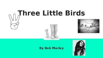 Listening Lesson - Three Little Birds by Bob Marley