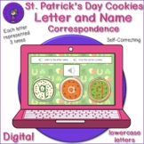 Listening Letter Name Correspondence - St. Patrick's Day Cookies