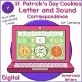 Listening Letter Sound Correspondence-St. Patrick's Day Cookies