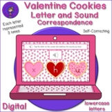 Listening Letter Sound Correspondence - Valentine's Day Cookies
