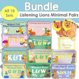 Listening Lions Minimal Pairs Bundle (All 10 sets)
