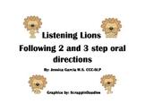Listening Lions