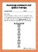 Listening Lists: Auditory Bombardment Phonology/Articulation Carryover Homework