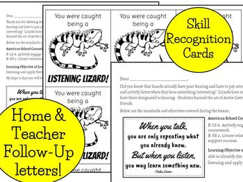 Listening Lizards: learn to be an Active Listener