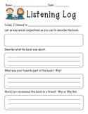 Listening Log