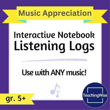 Listening Log Pack