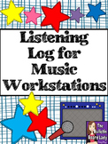 Listening Log for Listening to Music (Workstation or Stand Alone)