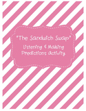 "Listening & Making Predictions FREEBIE Activity - ""The Sandwich Swap"""