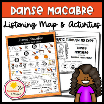 Listening Map: Danse Macabre by Camille Saint-Saens