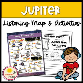 Listening Map: Jupiter from The Planets by Holst