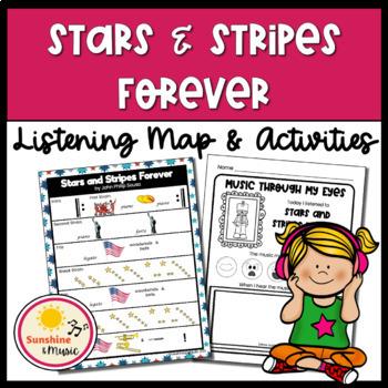 Listening Map: Stars and Stripes Forever by John Phillip Sousa