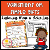 Listening Map: Variations on Simple Gifts by Aaron Copland