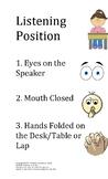 Listening Position Poster