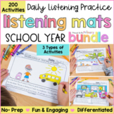 Listening Activity Mats Bundle