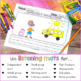 Listening & Following Directions Activities for Back to School - Distance