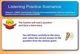 Listening Practice Scenarios